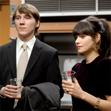 Paul Dano et Zooey Deschanel dans Gigantic