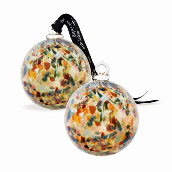 Cadeau thème DESIGN - Boule en verre Diptyque.