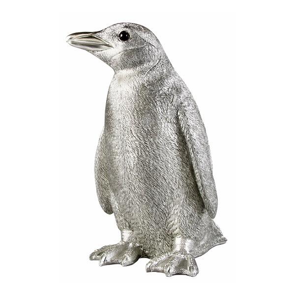 Cadeau thème 'MONDE' - Tirelire Pingouin Home Autour du Monde.