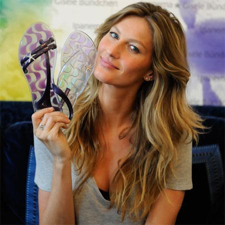 Gisèle Bündchen pour la collection de chaussures Ipanema Gisèle Bündchen - zoom 3