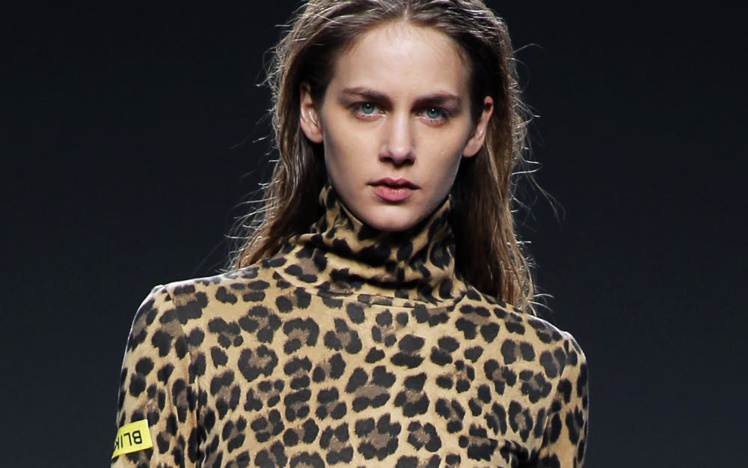 Imprimé léopard - Robe Blik Vander
