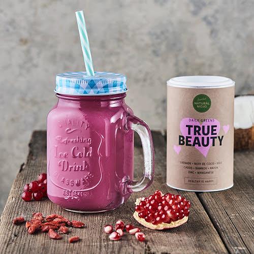 Tout le pouvoir des supers-aliments pour le bien-être  de tous avec Natural Mojo