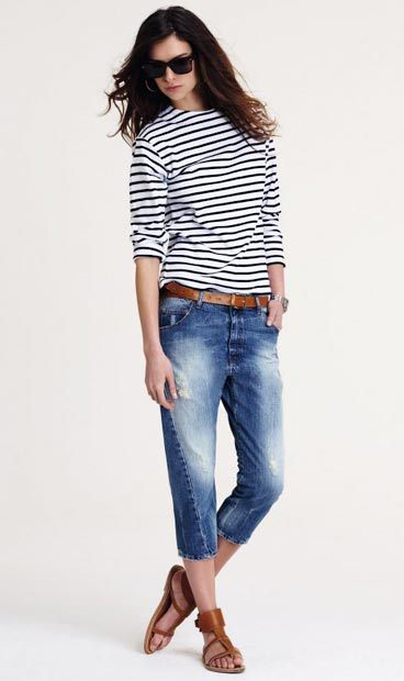 les rayures marines par Used-Jeans