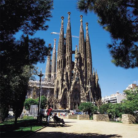 Barcelone, Temple Expiatori de la Sagrada Família. © Turisme de Barcelona / Espai d'Imatge