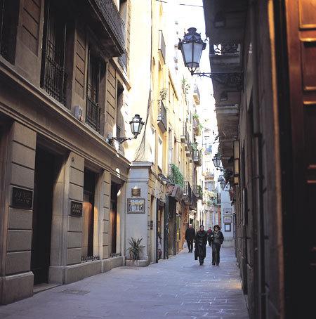 Barcelone, Carrer al barri de la Ribera. © Turisme de Barcelona / J. Trullàs