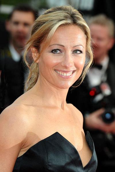 Anne-Sophie Lapix au Festival de Cannes 2010