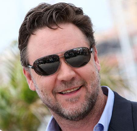 Russel Crowe au Festival de Cannes 2010.