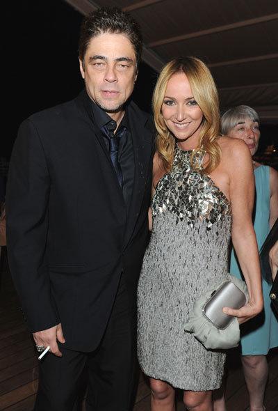 Benicio del Toro et Frida Giannini au Festival de Cannes 2010