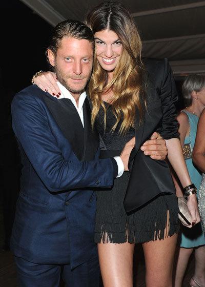Bianca Brandolini et Lapo Elkann au Festival de Cannes 2010