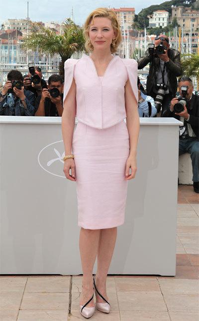 Cate Blanchett au Festival de Cannes 2010