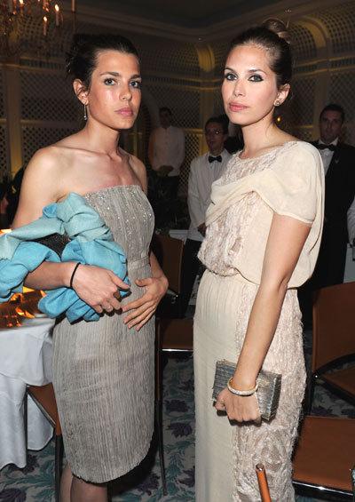 Charlotte Casiraghi et Dasha Zhukova au Festival de Cannes 2010