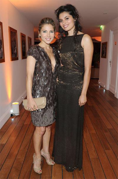 Elsa Pataky et Gabriella Wright au Festival de Cannes 2010