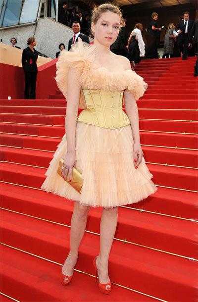 Léa Seydoux au Festival de Cannes 2010