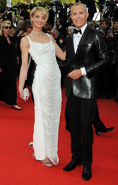 Sarah Marshall et Jean-Claude Jitrois au Festival de Cannes 2010