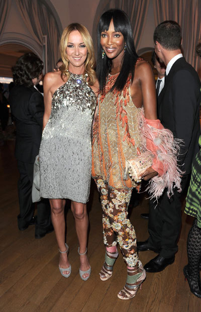 Naomi Campbell et Frida Giannini