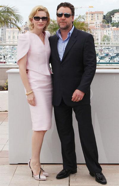 Cate Blanchett et Russel Crowe