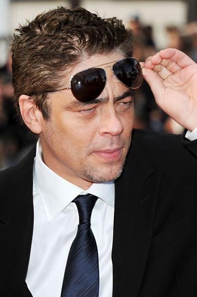 Benicio del Toro au Festival de Cannes 2010