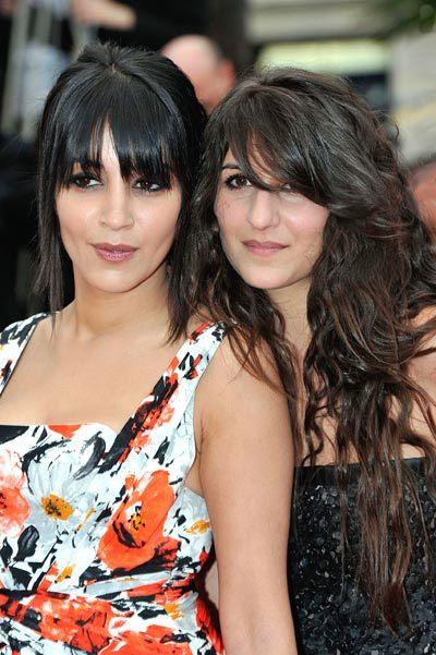 Leila Bekhti et Géraldine Nakache au Festival de Cannes 2010