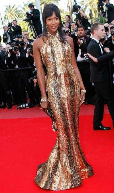 Naomi Campbell au Festival de Cannes 2010