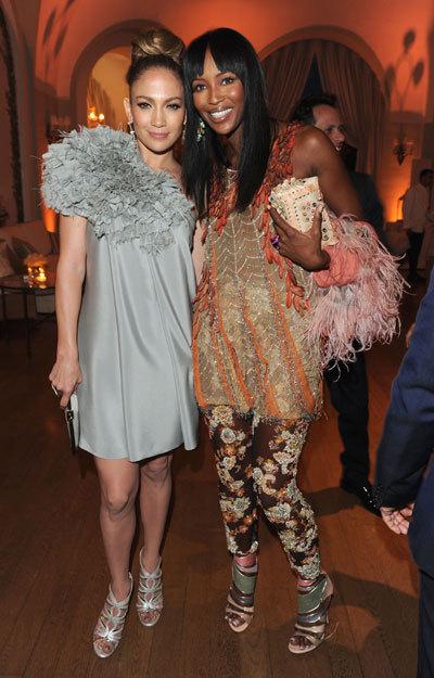 Naomi Campbell et Jennifer Lopez au Festival de Cannes 2010