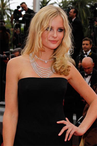 Petra Silander au Festival de Cannes 2010