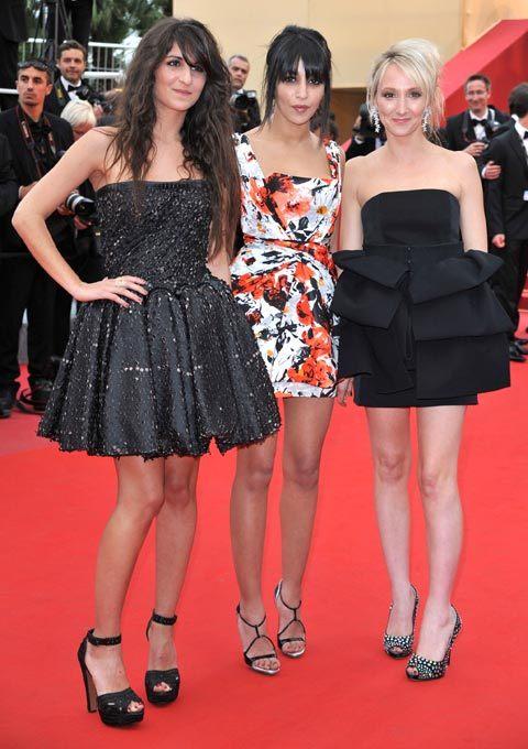 Leila Bekhti, Géraldine Nakache et Audrey Lamy au Festival de Cannes 2010