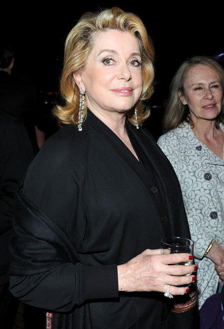 Catherine Deneuve au Festival de Cannes 2010