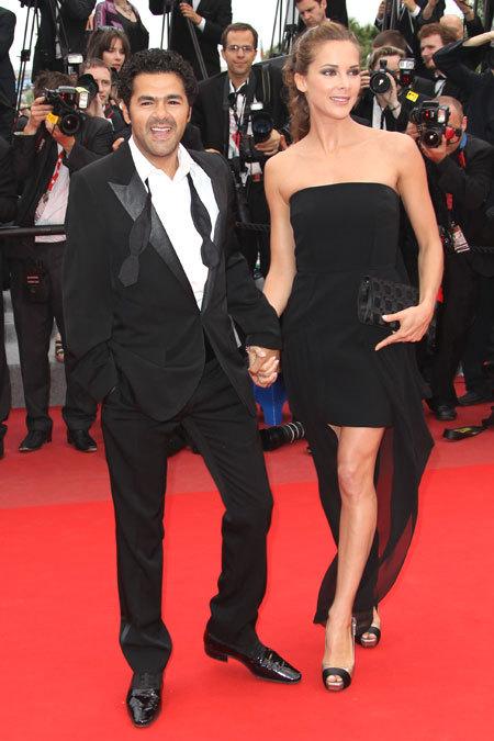 Jamel Debbouze et Melissa Theuriau au Festival de Cannes 2010
