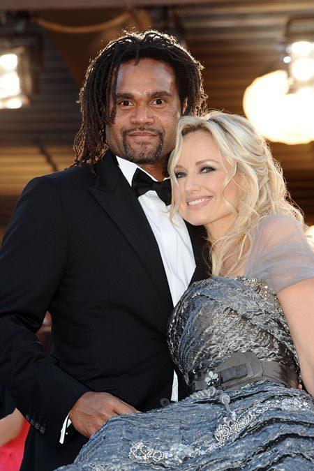 Adriana et Christian Karembeu au Festival de Cannes 2010