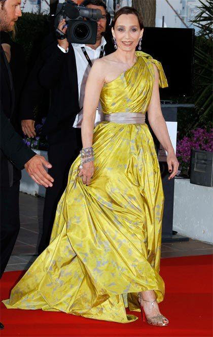 Kristin Scott Thomas au Festival de Cannes 2010
