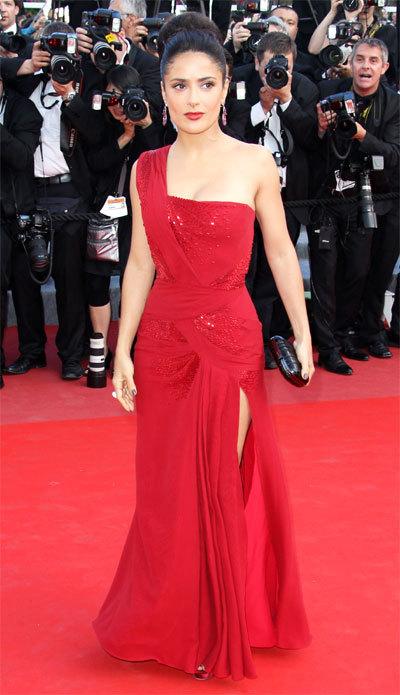 Salma Hayek au Festival de Cannes 2010