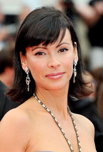 Mathilda May au Festival de Cannes 2010