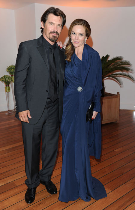 Josh Brolin et Diane Lane au Festival de Cannes 2010