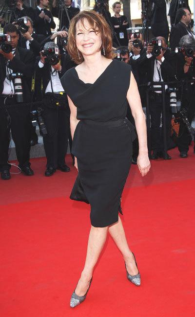 Nathalie Baye au Festival de Cannes 2010