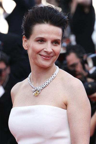 Juliette Binoche au Festival de Cannes 2010