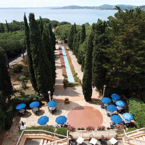 Jardins en terrasses au Club Vacanciel des Issambres