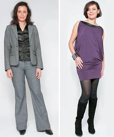 Amel,silhouette en H, avant et après.