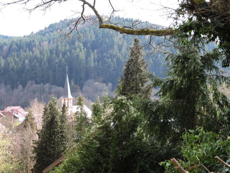 Panorama de la vallée de la Bruche en Alsace © Droits réservés.