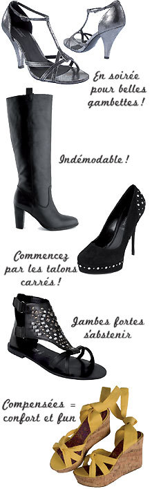 Choisir ses chaussures : les conseils shopping de Cristina Cordula