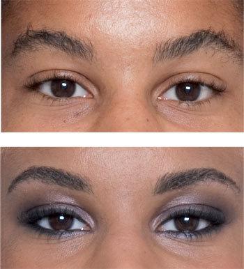 Comment discipliner  les sourcils de Nathalie ?