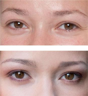 Comment embellir les sourcils de Sandra ?