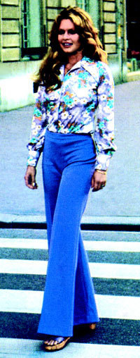 Le pantalon Karting porté par Bardot dans les années 70 est réédité
