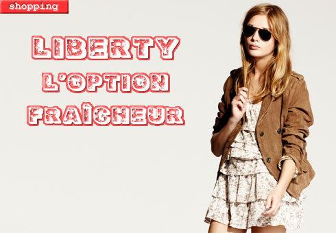 le Liberty, la tendance extrême fraîcheur de l'été - Look I-code by IKKS