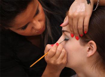 Maquillage du défilé Lee Young Hee par Make-Up For Ever
