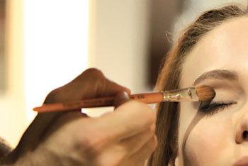 Maquillage du défilé Chemins Blancs par Make-Up For Ever