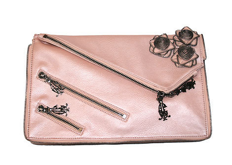Pochette rose Christian Audigier