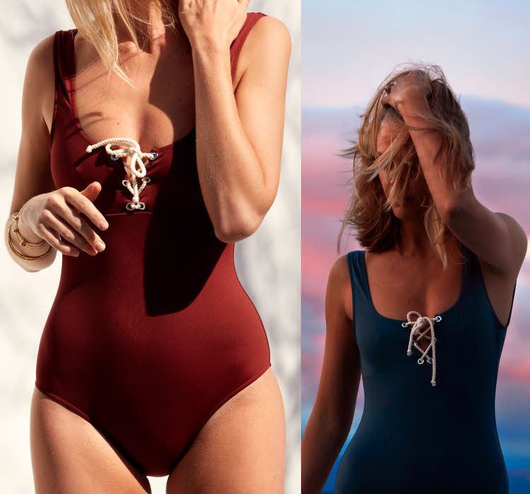 Silhouette V - Maillot ANJA