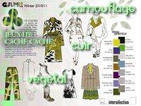 shopping jeux de cache-cache, camouflage et cuir