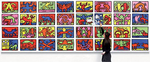 Keith Haring en puzzle géant : 10 m2 de pur Pop'Art