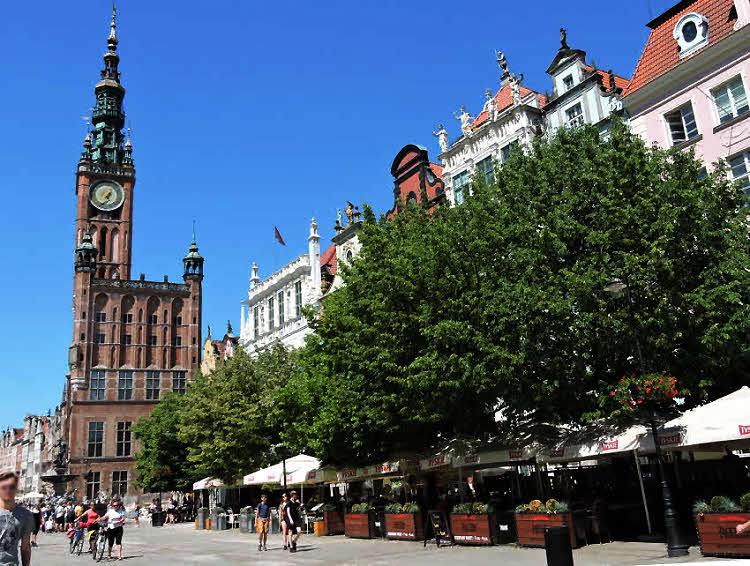Le beffroi de l'Hôtel de Ville de Gdansk © ABCfeminin.com.